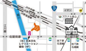 日本文化レクリエーション協会の地図